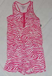 NEW Girls Romper Suit Faded Glory Shorts Jumper Sz XS S M L XL XXL One Piece