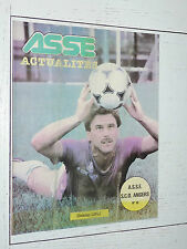 ASSE ACTUALITES N°59 1980 FOOTBALL AS SAINT-ETIENNE - SCO ANGERS LOPEZ VERTS