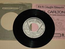 NORTHERN SOUL 45RPM RECORD - CARL CARLTON - PROMO BACKBEAT 629 W/ INSERT & SLEEV