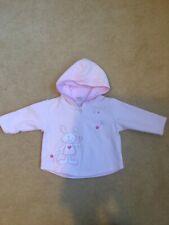 Next Baby Girls Pink Hoodie Lightweight Spring Fleece Age 3-6Months