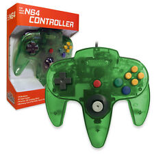 Nintendo 64 CONTROLLER JUNGLE GREEN  N64 *OLD SKOOL* New In Box!!