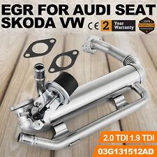 Pour VW AGR Refroidisseur Gaz échappement rapatriement 03g131512ad 1.9 2.0 TDI