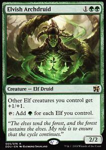 Elvish Archdruid   NM/M   Elves vs. Inventors   Magic MTG