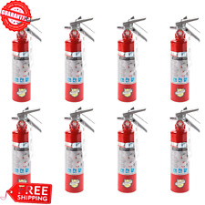 8x 25 Lb Fire Extinguisher Abc Dry Chemical Rechargeable Dot Vehicle Bracket Ul