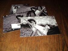 SHEILA LOT DE PHOTOS FORMAT 10*15 N&B - THEME 025 CHAISE LONGUE - 4 PRISES