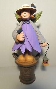 "Williraye WW7663 Into the Garden ""CONNIE"" Small Resin Flower Fairy Figurine"