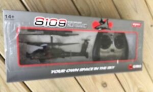 S19 Gyro System AH-64 Helicopter Remote Control 3.5 Channel System Syma New!
