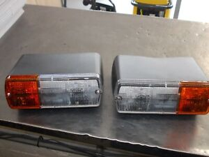 Genuine Ford/NewHolland/Fiat Tractor Front Combination Light (UK) Set of 2 - BA