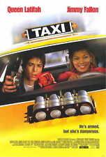 TAXI Movie POSTER 27x40 Queen Latifah Jimmy Fallon Gisele Bundchen Ana Cristina