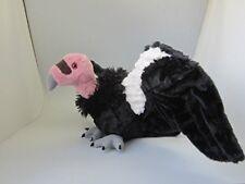"CALIFORNIA CONDOR 9"" tall PLUSH stuffed animal bird by Wild Republic vulture"