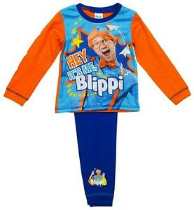 Blippi Pyjamas Officially Licensed Boys Kids PJs 18 Months to 5 Years