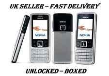 NOKIA 6300 SILVER BLACK NEW CONDITION UNLOCKED PHONE - BLUETOOTH – 2 MP CAMERA