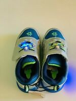 Toy Story Disney  Boys Athletic Light Up Shoes. Size 8, &10 NWT