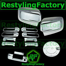 09-15 Dodge Ram Chrome Mirror no Light+4 Door Handle+Tailgate no CM+Gas Cover