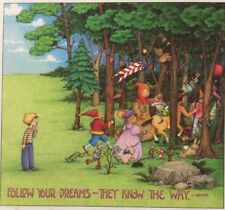 Mary Engelbreit Handmade Magnets-Follow Your Dreams-They Know The Way
