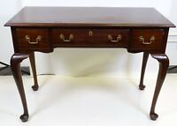Vintage Henkel Harris Mahogany Queen Anne Desk