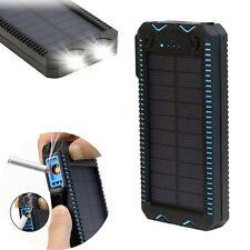 100000mAh Solar Power Bank Cigarette External Battery Charger For Tablets Phones