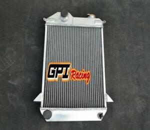 GPI 56 mm aluminum radiator for TRIUMPH TR4 1961 1962 1963 1964 1965 Manual