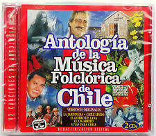Antologia De La Musica Folclorica De Chile by Various Artists 2 CD's 1999 NEW