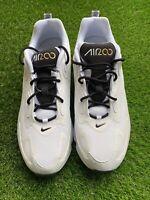 Nike Air Max 200 White/Metallic Gold/Black Men's Shoes (AQ2568 102) Sz 12