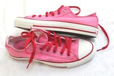 904071badee4 CONVERSE ALL STAR Pink Womens US 7 UK 5 Womens Double Tongue Sneakers