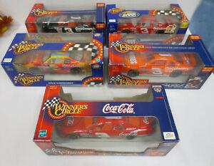 DALE EARNHARDT SR WINNERS CIRCLE 1/24 SCALE CAR COLLECTION VINTAGE RETRO NASCAR