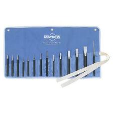 Mayhew Tools 61044 Conjunto de punzón y Cincel 14 piezas, CON SURTIDO Frío