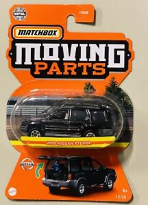 Matchbox moving parts 2000 Nissan Xterra black 2021 new Release
