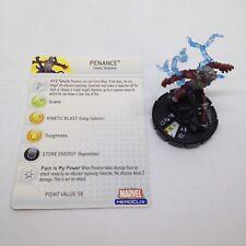 Heroclix Hammer of Thor set Penance #043 Rare figure w/card!