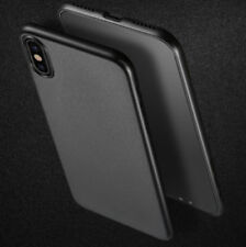 Matte Silicone/Gel/Rubber Cases, Covers and Skins for Apple iPhone X