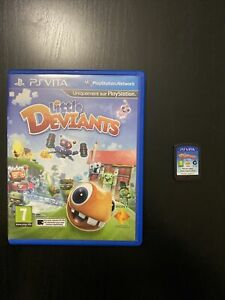 Jeu Sony Playstation Vita Little Deviants En Boite Pal Euro