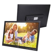 "17 "" HD Digitaler Bilderrahmen HDMI Fotorahmen mit Fernbedienung PG/JPEG"