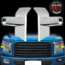 Abs Chrome Front bumper headlight Cover trim For Ford F150 2015-2017 Accessories