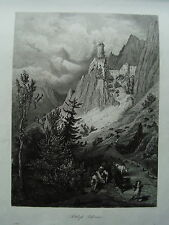 Hader Burg Castello Salurn Salorno Italia Italia Tirolo età ACCIAIO CHIAVE 1844