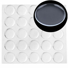 300X 1 inch Transparent Dome Circle Epoxy Clear Stickers For Bottle Cap Crafts