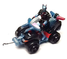 """Mighty Morphin POWER RANGERS SPD Space Police QUAD BIKE & 5"""" toy action figure"""
