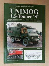 Tankograd 5068: Unimog 1.5-Tonner 'S' Part 3 - Box Body, Tank Dummy, Softback