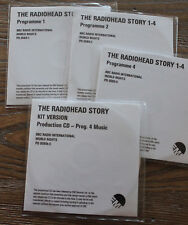 The Radiohead Story programme 1;2;4&prod.4 BBC Radio International 4xCDr promo