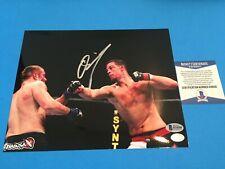 Nate Diaz UFC Signed Auto 8x10 Photo Beckett BAS COA