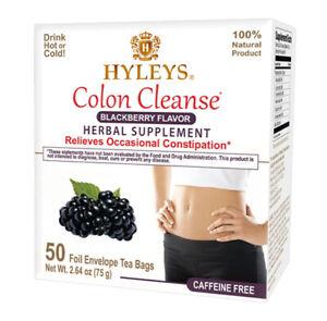 Hyleys Colon Cleanse Blackberry Improve Digestion - 50 tea bag