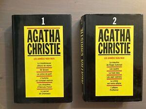 Agatha Christie Intégrale -Tome 1 Les années 1920-25 & Tome 2 Les années 1926-30
