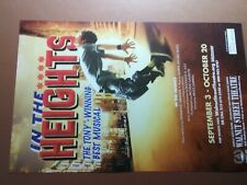 IN THE HEIGHTS MUSICAL MUSICAL PROMO AD SMALL POSTER
