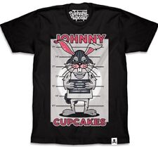 Men's New Johnny Cupcakes One Bad Egg T-Shirt size Small Bugs Bunny