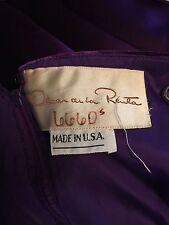 Oscar-de-la-Renta-6-Purple-Velvet-Silk-Taffeta-Long-Evening-Gown-Dress