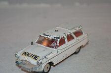 Corgi Toys 419 Ford Zephyr Motorway Patrol Dutch Politie unboxed