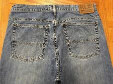 RL POLO RALPH LAUREN LANGLEY JEANS ACTUAL SIZE 34 x 34 Tag 32 x 34 GUC BEST Y2