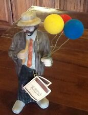 Emmett Kelly Jr. Collection Flambro 1994 Signed with Tag