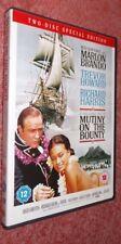 Mutiny On The Bounty, UK 2 Disc DVD Set (1962) Marlon Brando, Trevor Howard
