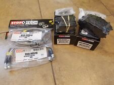 Stoptech Package. Brake Pads and Brake Lines. Fits Honda 06-09 S2000