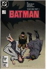 BATMAN 404 DC Comics 1987 YEAR ONE Part 1 David Mazzucchelli FRANK MILLER